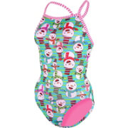 Dolfin Women's Uglies V-2 Back Snow What Fun Swimsuit