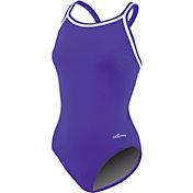 Dolfin Women's Solid DBX Back Swimsuit
