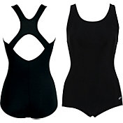 Dolfin Women's Long Torso Lap Swimsuit