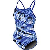 Dolfin Women's Zephyr Print V Back Swimsuit