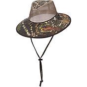Dorfman Pacific Camo Mesh Safari Hat