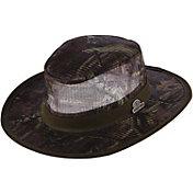 Dorfman Pacific Mossy Oak Men's Camo Mesh Safari Hat