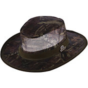 Dorfman Pacific Mossy Oak Men's Camo Mesh Safari Hat