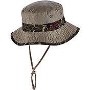 Dorfman Pacific Mossy Oak Men's Camo Trim Bucket Hat