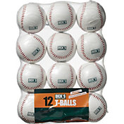 DICK'S Sporting Goods Official Practice T-Balls – 12 Pack