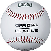 DICK'S Sporting Goods Bucket of 24 Leather Baseballs