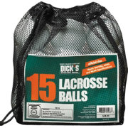 DICK'S Sporting Goods 15 Pack Lacrosse Balls