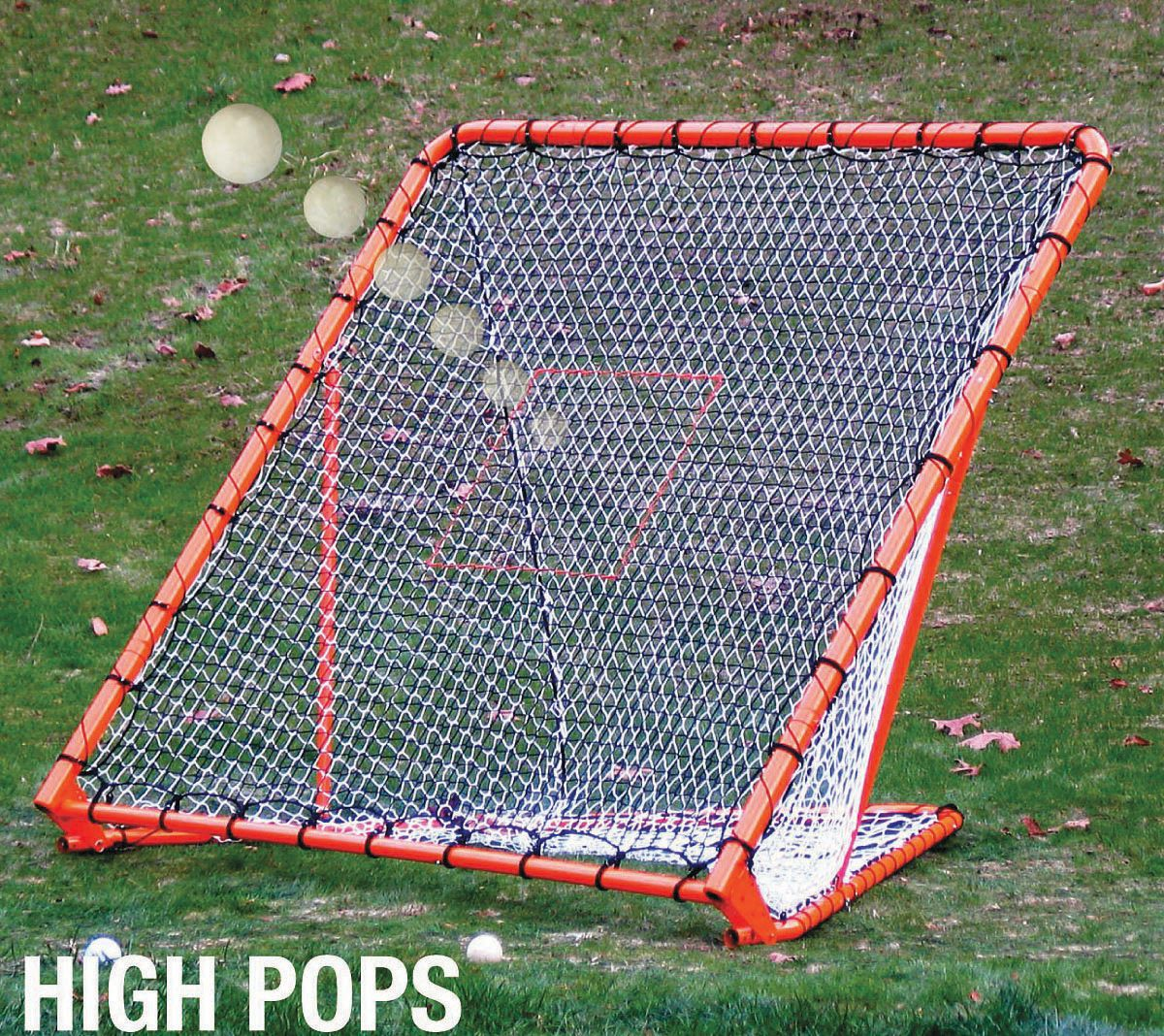 ezgoal pro folding lacrosse goal w throwback u0027s sporting goods