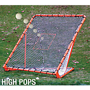 EZGoal Pro Folding Lacrosse Goal w/ Throwback
