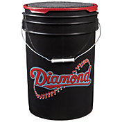 Diamond D-OB Official League Practice Baseballs - Bucket of 30