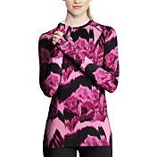 Duofold Women's THERMatrix Printed Crew Long Sleeve Baselayer Shirt