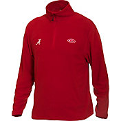 Drake Waterfowl Men's Alabama Camp Fleece Quarter Zip Pullover