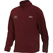 Drake Waterfowl Men's Mississippi State Camp Fleece Quarter Zip Pullover