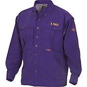 Drake Waterfowl Men's LSU Wingshooter's Long Sleeve Shirt