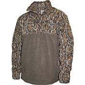 Drake Waterfowl Men's MST 2-Tone Camo Camp Fleece Pullover