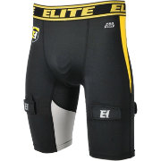 Elite Hockey Senior Compression Jock Short with Pro-Fit Cup