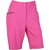 EP Pro Women's Stretch Micro Twill Angled Pocket Golf Shorts