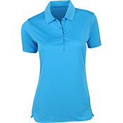EP Pro Women's Solid Curved Hem Polo