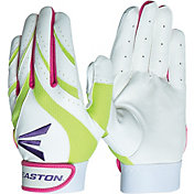 Easton Girls' Synergy Multi-Color Fastpitch Batting Gloves