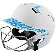 Easton Women's Z5 Two-Tone Fastpitch Batting Helmet w/ Facemask