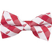 Eagles Wings Detroit Red Wings Check Bow Tie