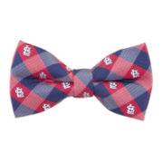 Eagles Wings St. Louis Cardinals Checkered Bow Tie