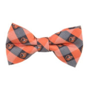 Eagles Wings Baltimore Orioles Checkered Bow Tie