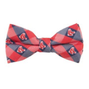 Eagles Wings Boston Red Sox Checkered Bow Tie