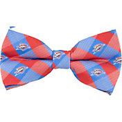 Eagles Wings Oklahoma City Thunder Checkered Bow Tie