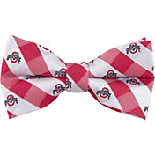 Eagles Wings Ohio State Buckeyes Checkered Bow Tie