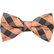 Eagles Wings Oklahoma State Cowboys Checkered Bow Tie