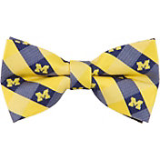Eagles Wings Michigan Wolverines Checkered Bow Tie