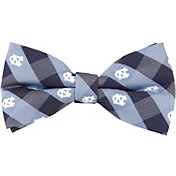 Eagles Wings North Carolina Tar Heels Checkered Bow Tie