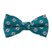 Eagles Wings Miami Dolphins Repeat Bow Tie