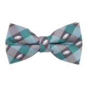 Eagles Wings Philadelphia Eagles Checkered Bow Tie