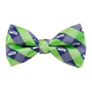 Eagles Wings Seattle Seahawks Checkered Bow Tie