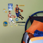 Fathead Golden State Warriors Stephen Curry Home and Away Player Wall Decal