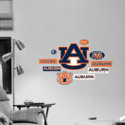 Fathead Auburn Tigers Team Logo Assortment Wall Graphic
