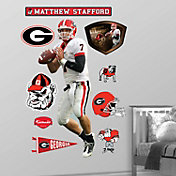 Fathead Georgia Bulldogs Matthew Stafford Wall Graphic