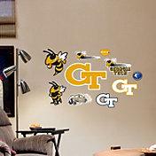Fathead Georgia Tech Yellow Jackets Team Logo Assortment Wall Decals