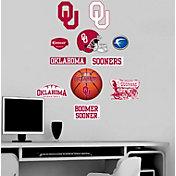 Fathead Oklahoma Sooners Team Logo Assortment Wall Graphic
