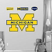 Fathead Michigan Wolverines Maize Logo Wall Graphic