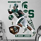 Fathead Michigan State Spartans Greg Jones Wall Graphic
