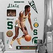 Fathead Michigan State Spartans Magic Johnson Wall Graphic