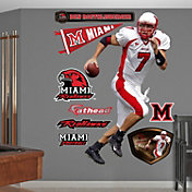 Fathead Ben Roethlisberger Miami Redhawks Wall Decal