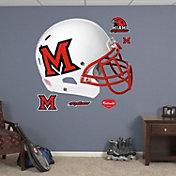 Fathead Miami Redhawks Helmet Wall Decal