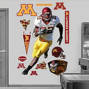 Fathead Laurence Maroney Minnesota Golden Gophers Wall Graphic