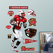 Fathead Vernon Davis Maryland Terrapins Wall Decal