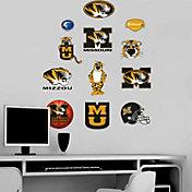 Fathead Missouri Tigers Team Logo Assortment Wall Graphic