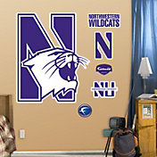Fathead Northwestern Wildcats Logo Wall Decal
